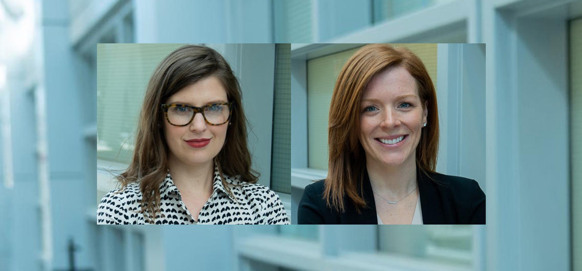 Dr. Kirsten Fiest (left) and Dr. Jeanna Parsons Leigh (right) are co-authors on a new study surveying Canadians on various aspects of the COVID-19 pandemic.