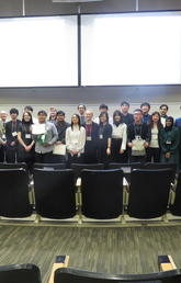 Alberta Japanese Speech Contest contestants and judges