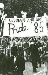 Archive photo of a Lesbian and Gay Pride March in 1985.
