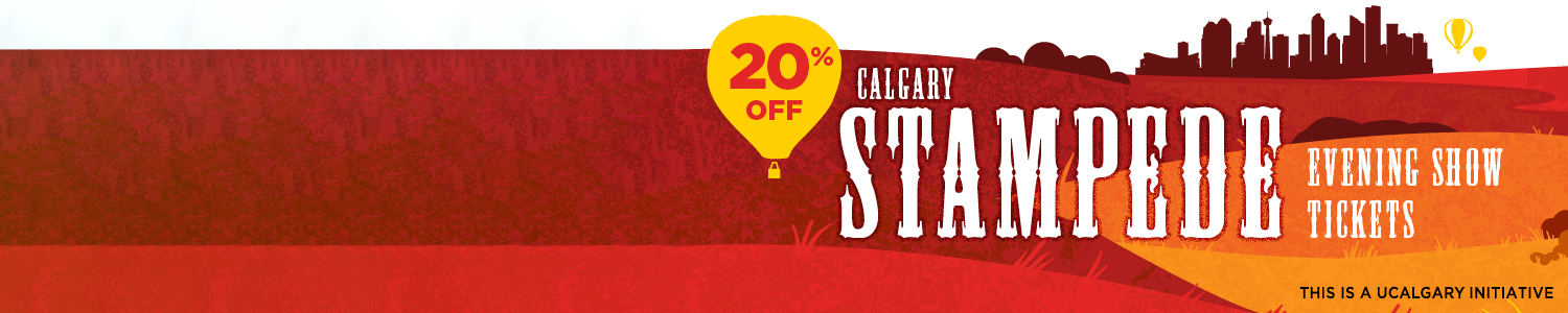 20% off Calgary Stampede Evening Show tickets