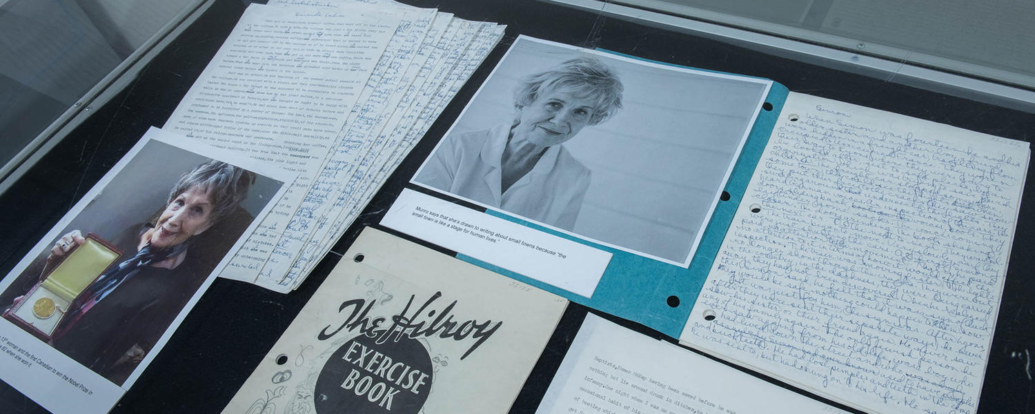UCalgary's Alice Munro archives