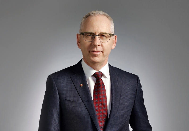Dr. Ed McCauley, President of University of Calgary