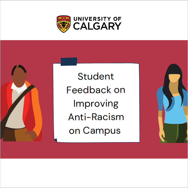 Student Feedback on Improving Anti-Racism on Campus