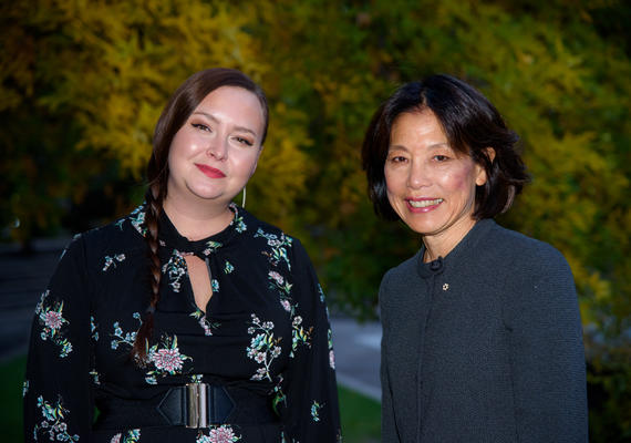 Writers in Residence Liz Howard and Denise Chong