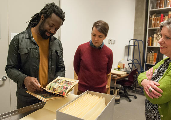 Marlon James for Calgary Distinguished Writers Program