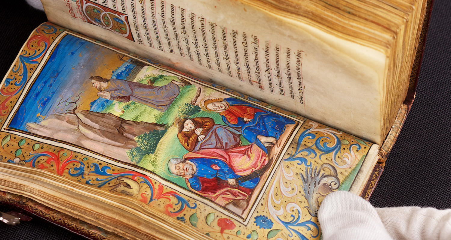 Amiens book of hours at UCalgary