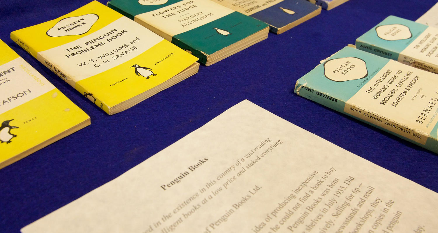 UCalgary's collection of Penguin books