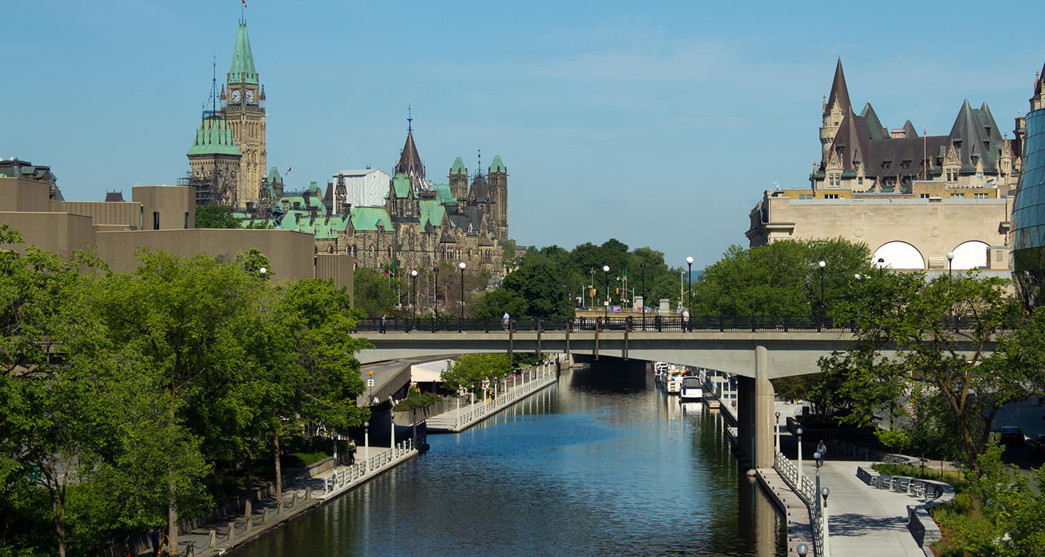 Stock image: Rideau Canal in Ottawa