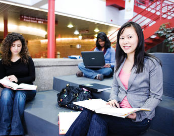 UCalgary students working together