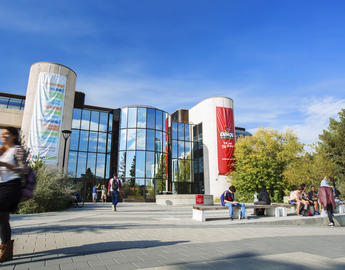 MacEwan Hall outside